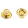 Eyelets Mini 2.2mm Hole Gold 50pcs